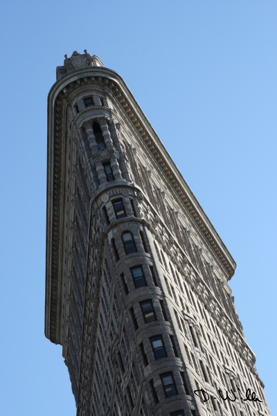 The Flatiron Building in Manhattan, New York City, NY, United States of America