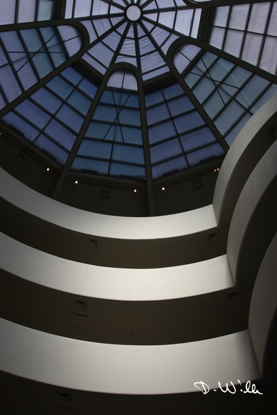 The Solomon R. Guggenheim Museum in Manhattan, New York City, NY, United States of America