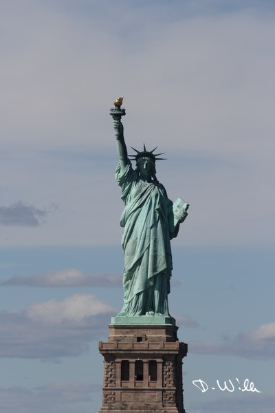 The Statue of Liberty in Manhattan, New York City, NY, United States of America