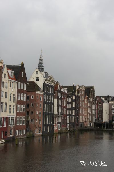 Typical Houses, Amsterdam, Netherlands