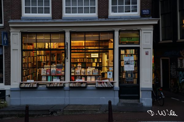 Book store, Amsterdam, Netherlands