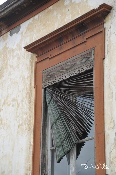 Window blind, Funchal, Madeira, Portugal