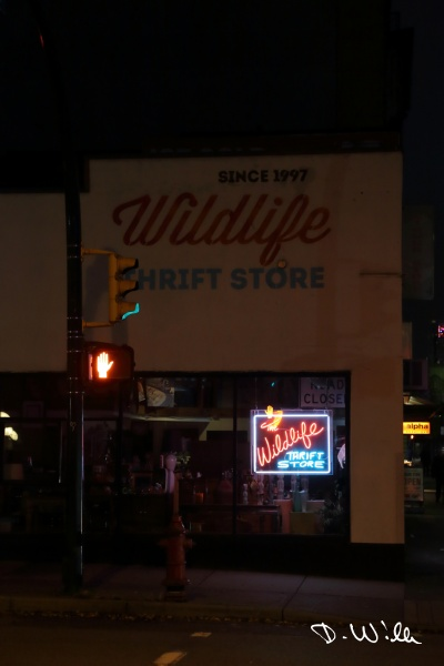 The Wildlife Thrift Shop, Vancouver, BC, Canada