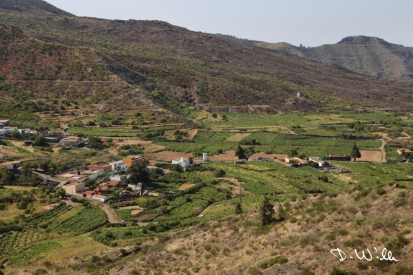 Small mountain village, Teneriffe, Spain