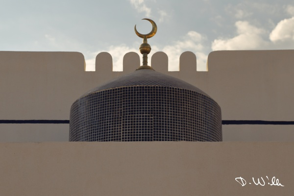 Mosque in Manah, Oman