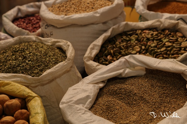 Spices at the souq in Nizwa, Oman