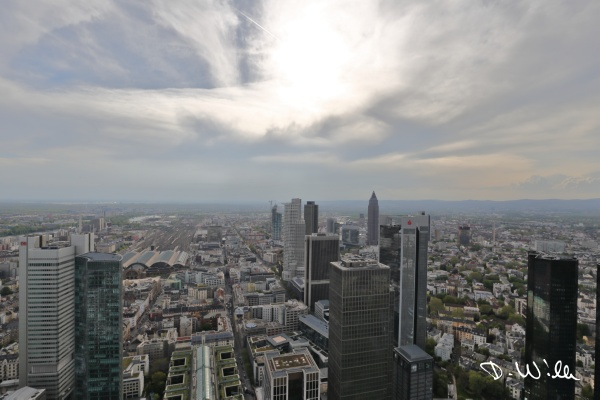 View from the Main Tower, Frankfurt am Main, Germany