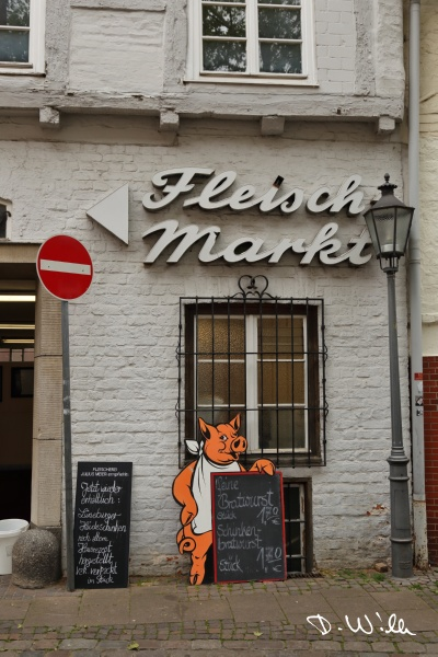 Meat market, Lüneburg, Germany
