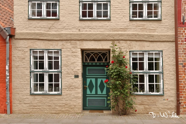 Typical house, Lüneburg, Germany