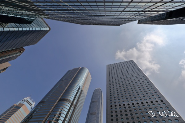 Highrises in Central, Hong Kong