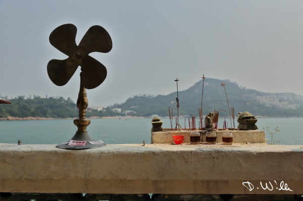 Wheel of fortune at the Pak Tai Temple, Stanley, Hong Kong