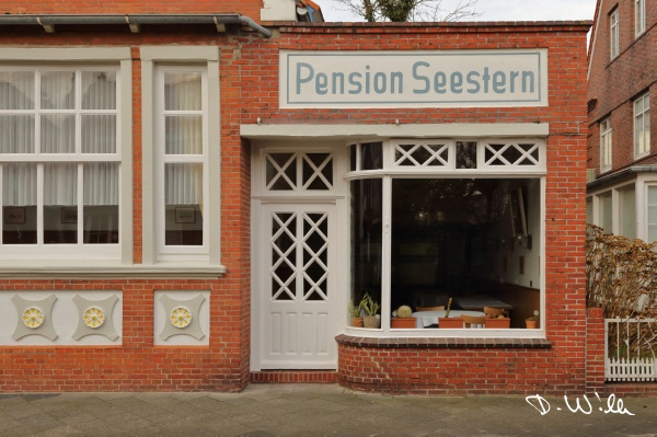 "Old pension ""Seestern"", Juist, Germany"