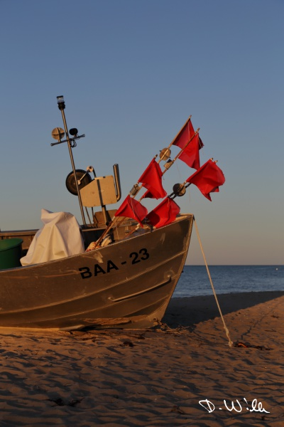 Fishing boat, Baabe, Rügen, Germany